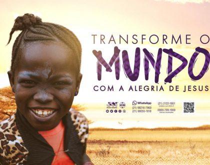 Transforme o Mundo com a Alegria de Jesus